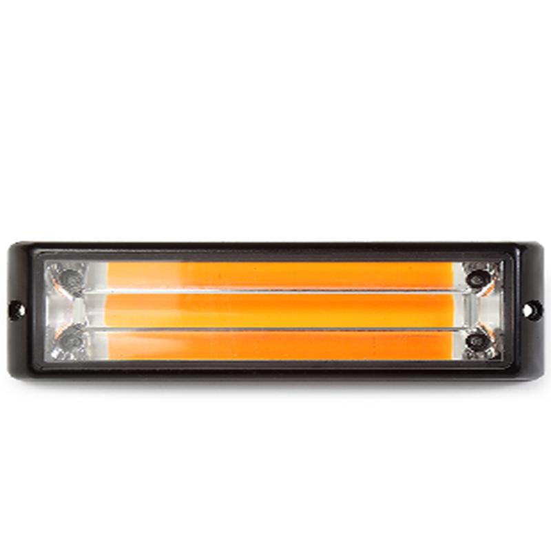 Маяк светодиодный 10-30V (желтый) Малый  Арт.:6K-М (AL