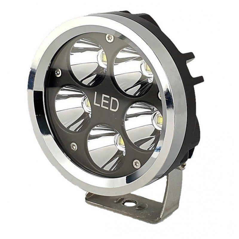 Фароискатель на уаз светодиодный 50 ватт мини дальнего света компактный сверхдальний