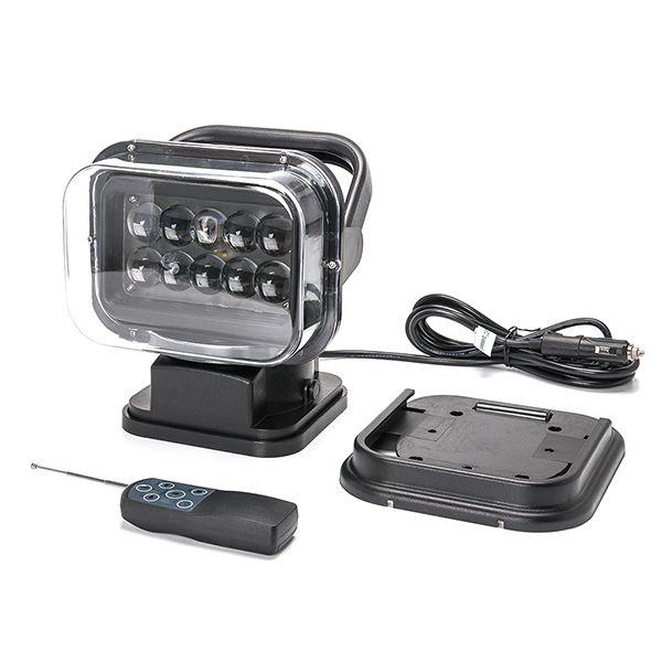 Светодиодный фароискатель 50 Ватт 6k-BB4D с дистанционным управлением 12-24 Вольт для Спецтехники и Внедорожников Арт.:6K-BB4D50W