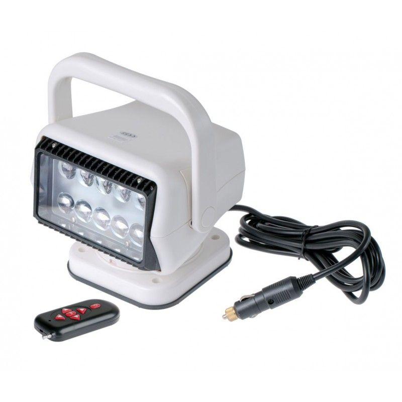 Компактный фароискатель прожектор 50 ватт led с дистанционным управлением