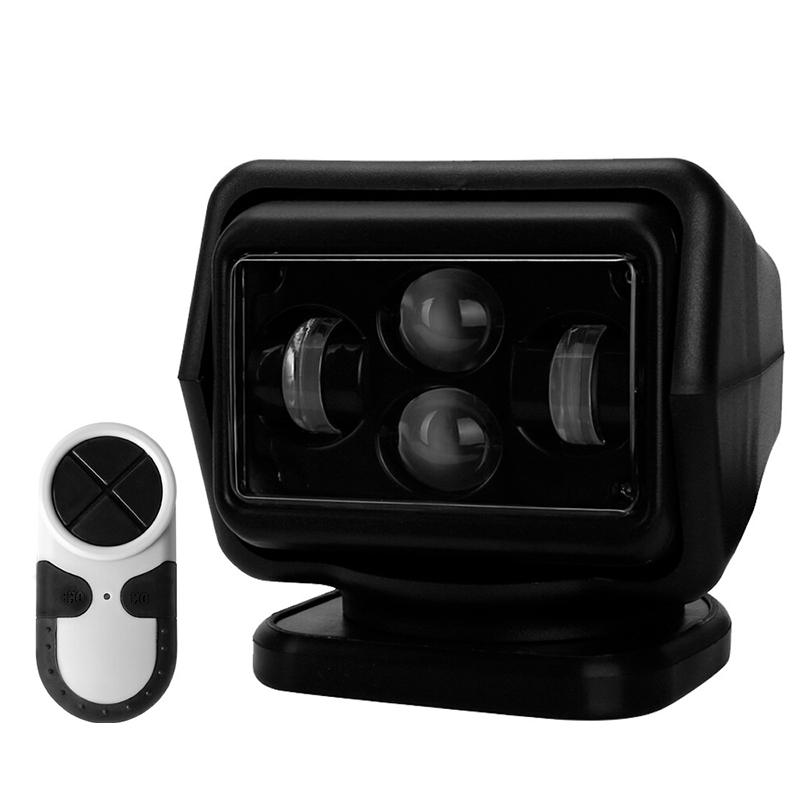 Фара искатель светодиодный 60 Ватт Д/У (черный) 6K-CH00160W B