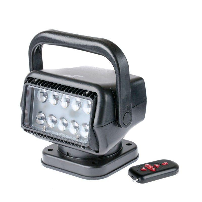 черный фароискатель прожектор 50 ватт линзы направленный сверхмощный луч