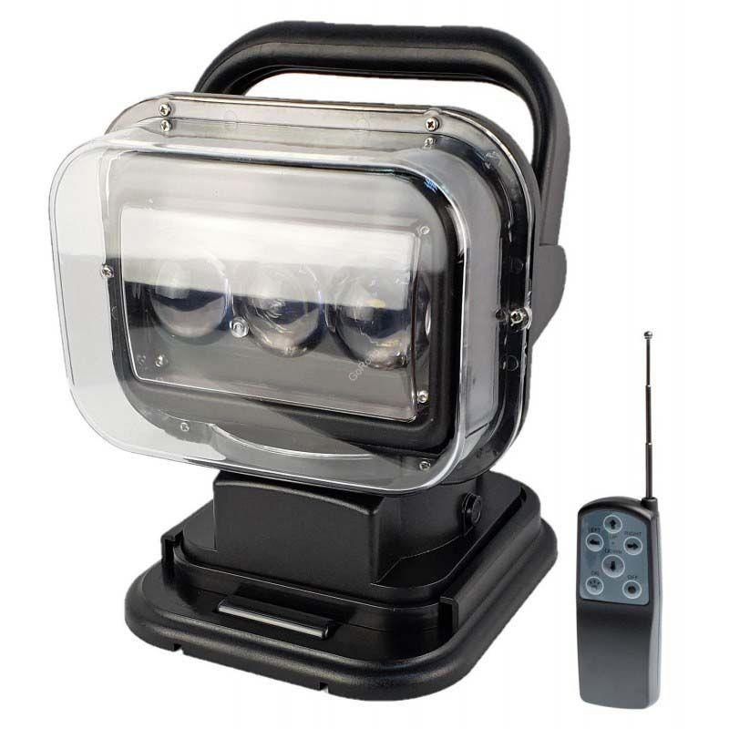 новинка фароискатель прожектор 60 ватт направленный луч с дистанционным управлением